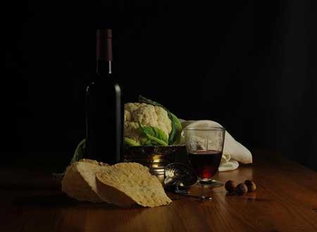 Tecnovino pan para catas de vino Don Pelayo