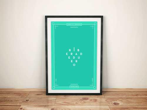 Tecnovino rebranding denominaciones de origen poster