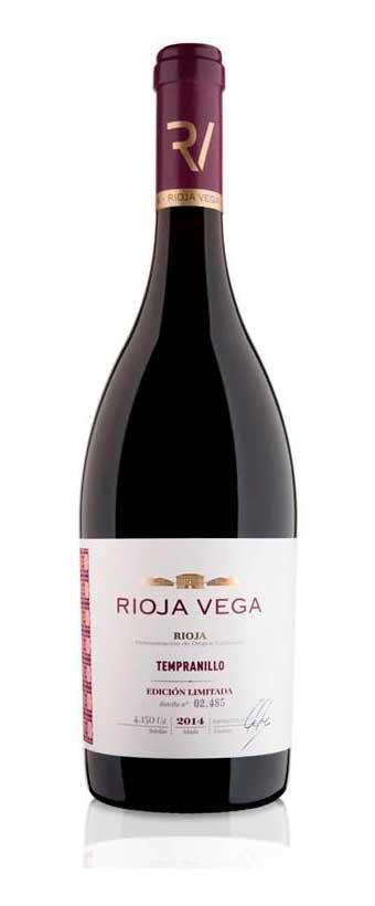 Tecnovino tinto de Tempranillo Rioja Vega