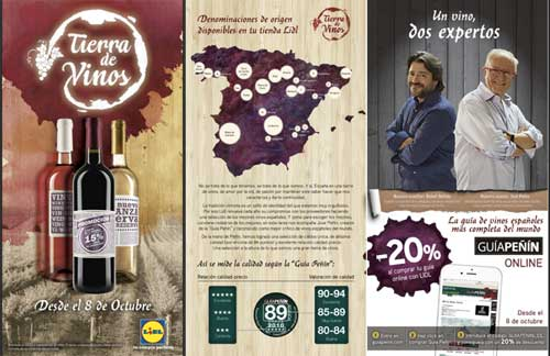 Tecnovino Lidl vino espanol promocion 1