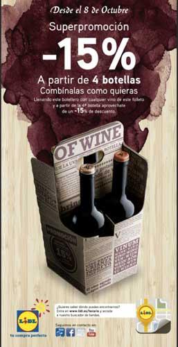 Tecnovino Lidl vino espanol promocion 3