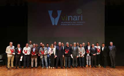 Tecnovino Premis Vinari 2015