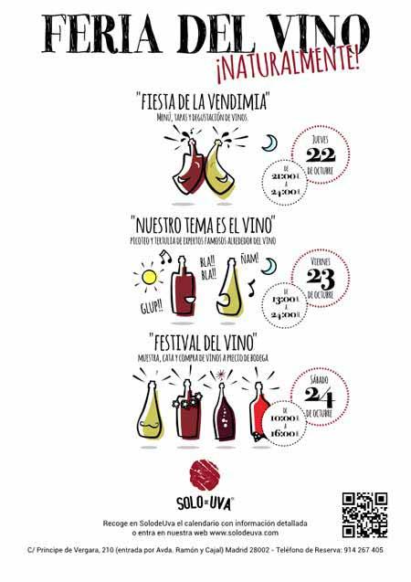 Tecnovino cultura del vino Naturalmente SolodeUVa