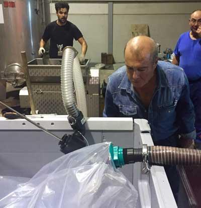 Tecnovino elaboracion de vino consumo agua 3