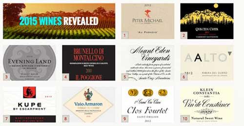 Tecnovino 100 mejores vinos 2015