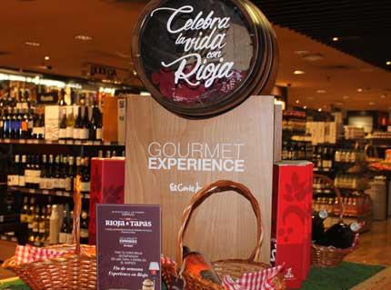 Tecnovino Rioja y Tapas El Corte Ingles