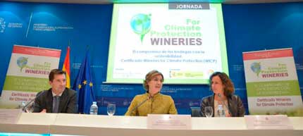 Tecnovino certificacion para bodegas Wineries for Climate Protection 1