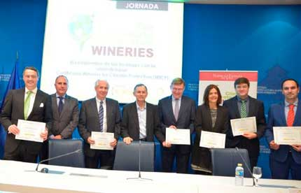 Tecnovino certificacion para bodegas Wineries for Climate Protection 2