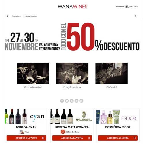 Tecnovino compra online de vino Wanawine