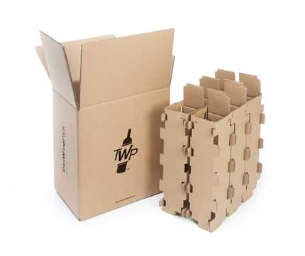 Tecnovino embalaje para botellas de vino TotalWinePack 1