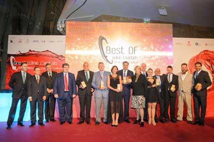 Tecnovino premios Best Of de Turismo Vitivinicola 2015 2