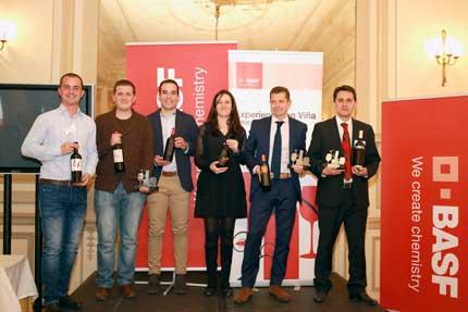 Tecnovino Catatalentos 2015 Basf ganadores