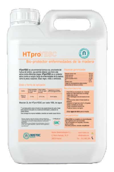 Tecnovino biofertilizante vid HTproYESC Nostoc