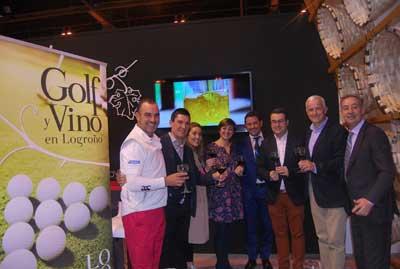 Tecnovino golf y vino Ayuntamiento de Logrono Fitur