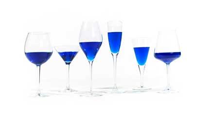 Tecnovino vino azul Gik copas