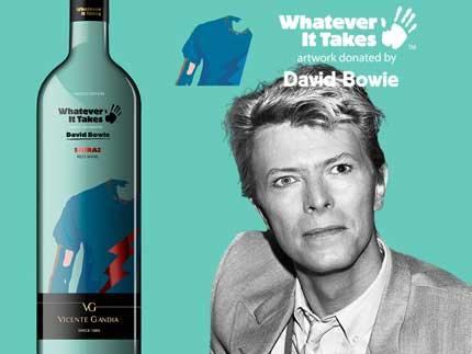 Tecnovino vino de David Bowie Vicente Gandia