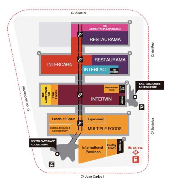 Tecnovino Alimentaria 2016 plano
