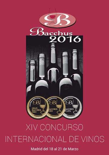 Tecnovino Bacchus 2016 concurso de vinos