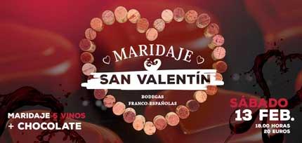 Tecnovino San Valentin vino Franco Espanolas