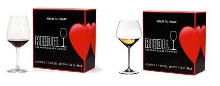Tecnovino San Valentin vino Riedel
