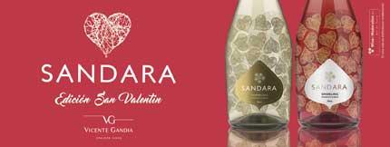 Tecnovino San Valentin vino Sandara
