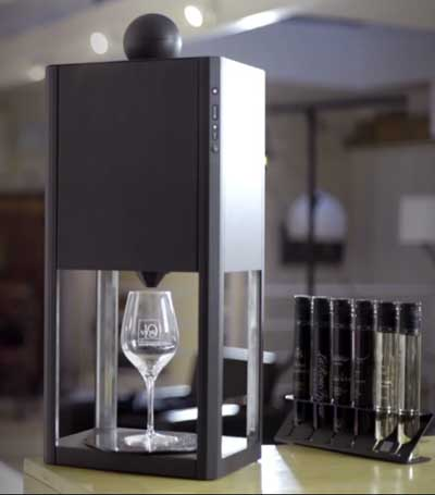 Tecnovino Nespresso del vino monodosis D-Vine 1