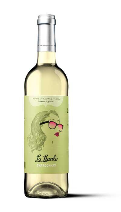 Tecnovino etiquetas de vino La Lianta