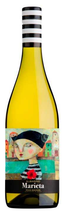 Tecnovino etiquetas de vino Marieta