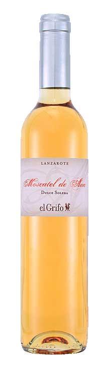 Tecnovino etiquetas de vino Moscatel de Ana