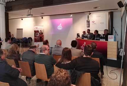 Tecnovino Peculiar Wines Vicente Gandia presentacion