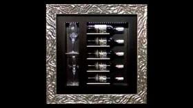 ¿Arte o refrigeración? Un cuadro de diseño que enfría botellas de vino