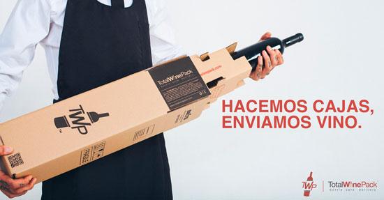 Tecnovino TotalWinePack embalaje de botellas de vino 1