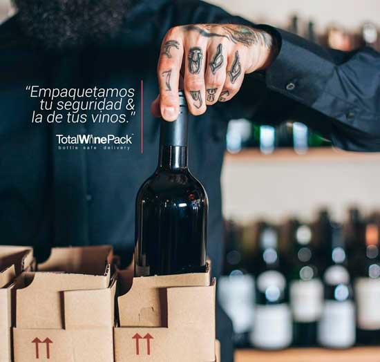 Tecnovino TotalWinePack embalaje de botellas de vino 5