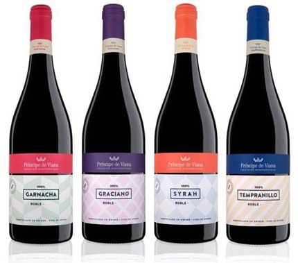 Tecnovino vinos monovarietales Principe de Viana