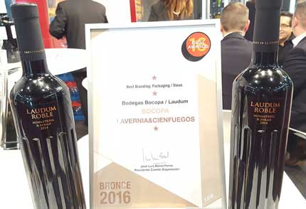 Tecnovino Laudum Roble Best Awards 2