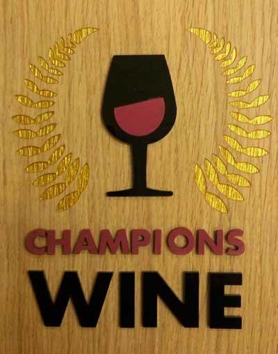 Tecnovino concurso Champions Wine vino