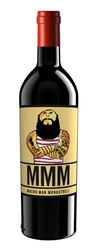 Tecnovino vinos originales Macho Man Monastrell