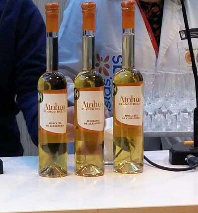 Tecnovino II Concurso de Vinos del Atlantico Ainhoa dulce
