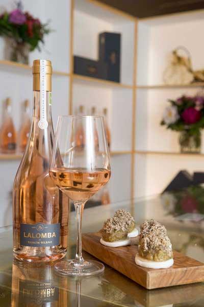 Tecnovino Lalomba Ramon Bilbao vino rose 1