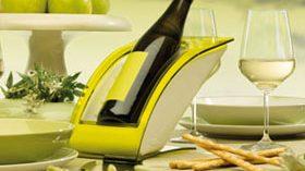 Enfriar vino con un vistoso diseño en la mesa es posible con Wice