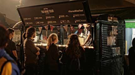 Tecnovino enoFestival 2016 Bodegas Torres wine truck