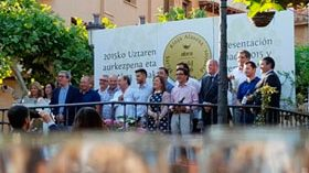 Presentan la añada 2015 de Rioja Alavesa y los Premios Abra
