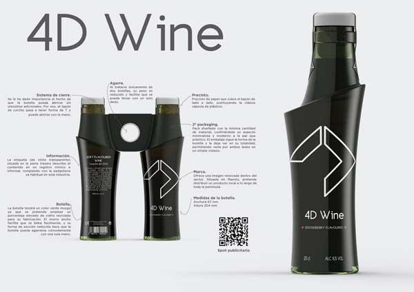 Tecnovino botella de vino diseno Vidrala 1