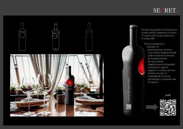 Tecnovino botella de vino diseno Vidrala 3
