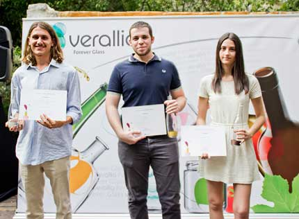 Tecnovino botellas de vino concurso Verallia ganadores