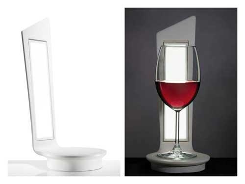 Tecnovino cata de vinos lampara Hi Macs 1