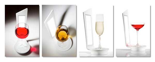 Tecnovino cata de vinos lampara Hi Macs 2