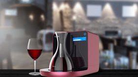 Un decantador inteligente que revoluciona la decantación del vino