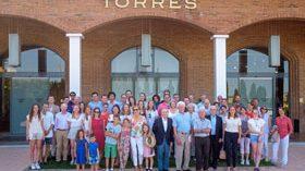Bodegas Torres acoge a las grandes familias del vino europeas