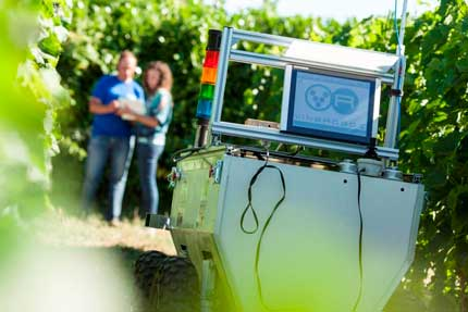 Tecnovino robot para el vinedo Vinerobot 1